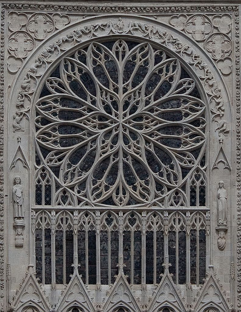 Amiens Cathedral South Facade Rose Window