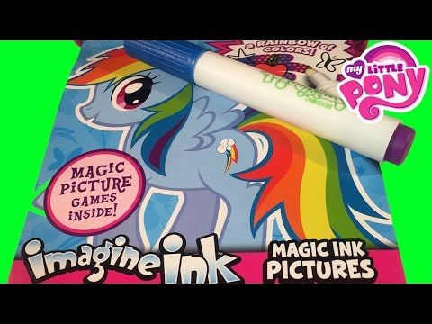 Imagine Ink My Little Pony Mystery Surprise Search Rainbow Colors Art, My  Little Pony Videos, Best Pens