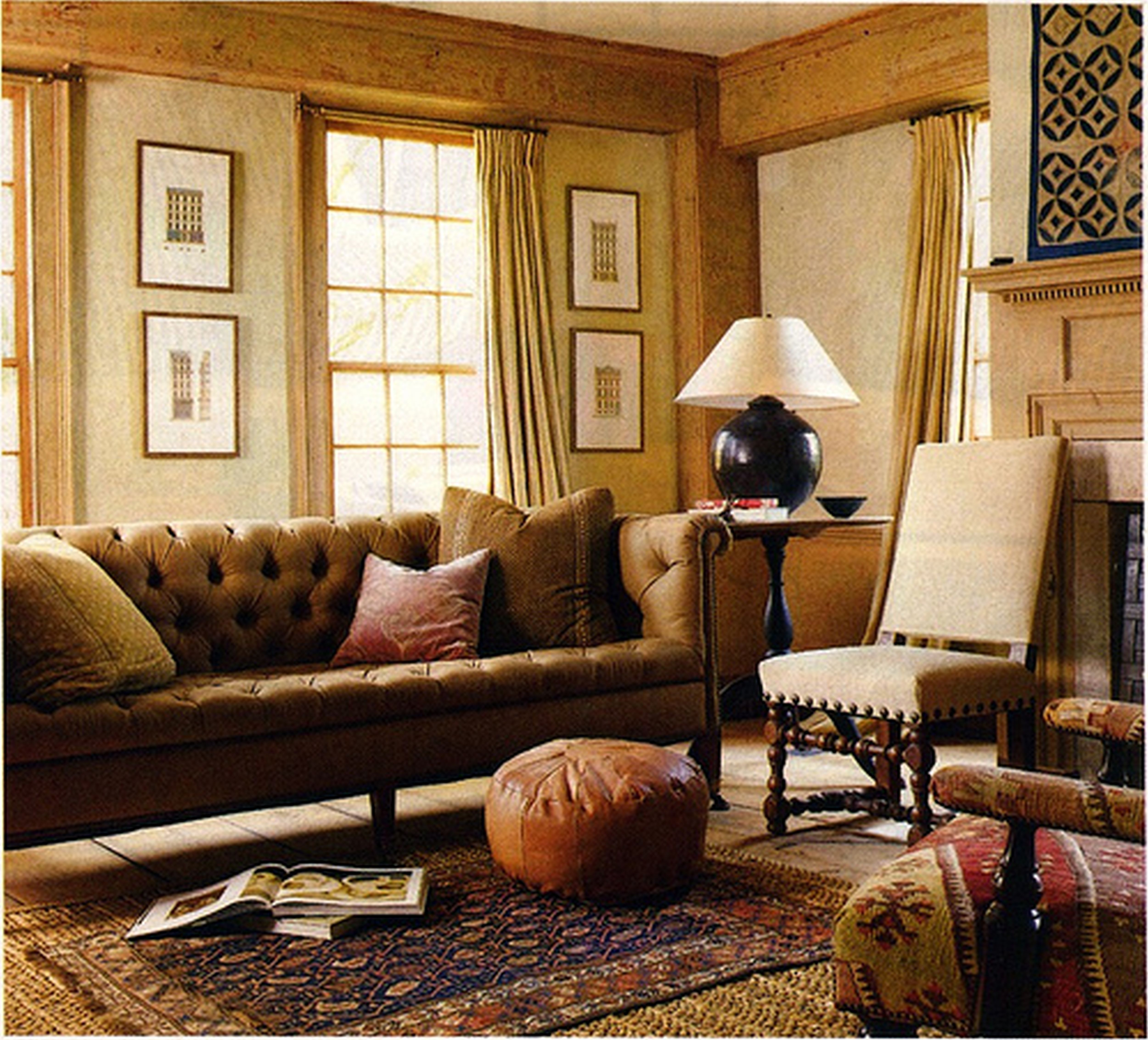 Country Living Room Designsliving Room Earth Tone Colors De