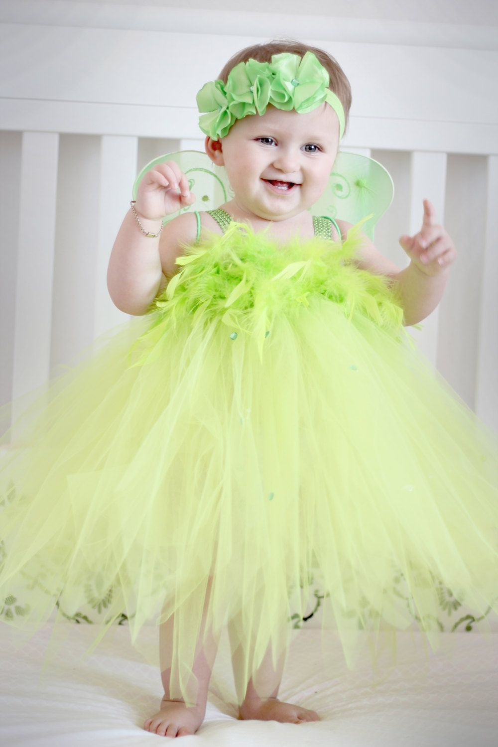 48b8ec75d PREORDER+TinkerBell+Fairy+Feather+Costume+by+AverysCoutureLook,+$60.00