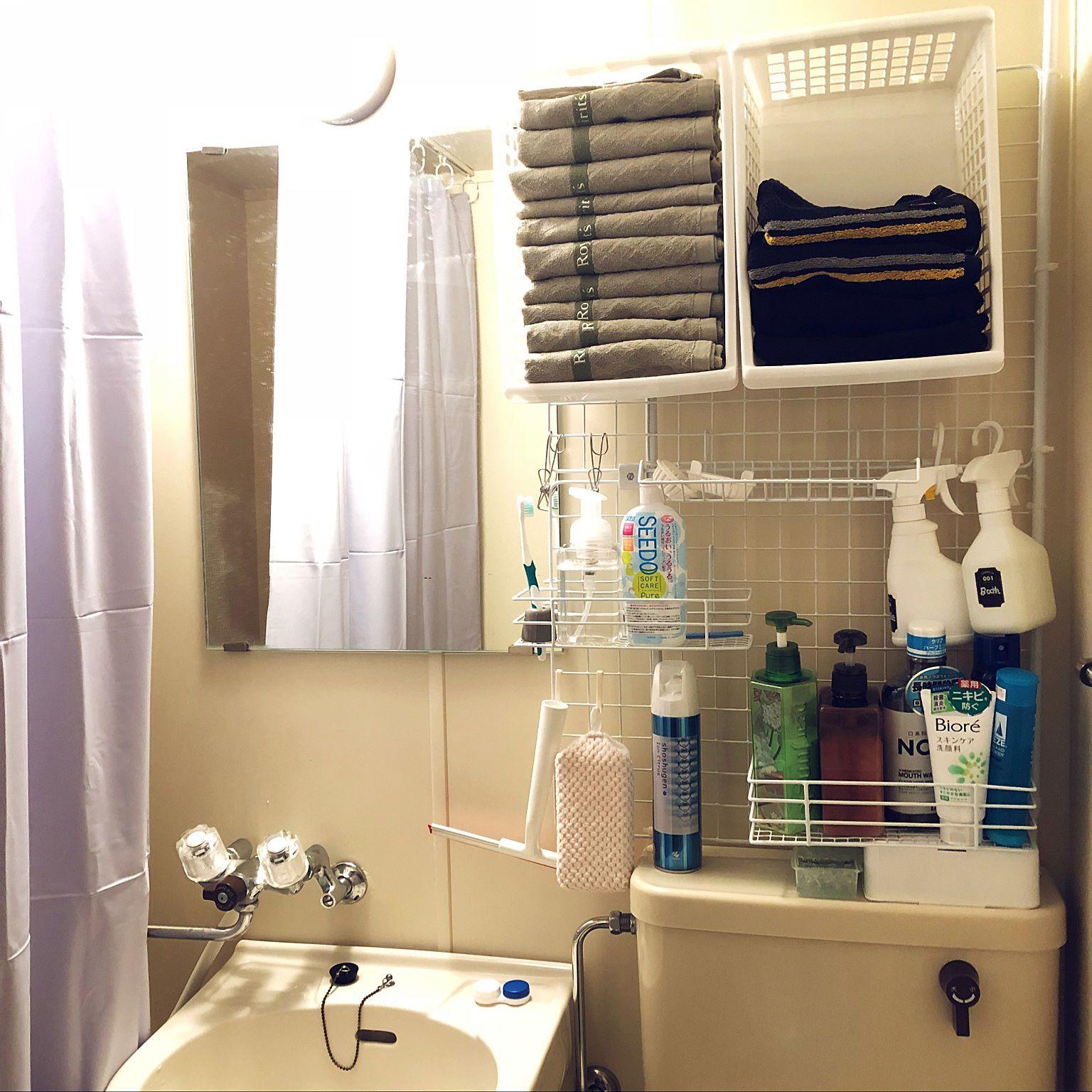 バス トイレ 新生活 大学生男子の部屋 入居日の記録 家具付き賃貸