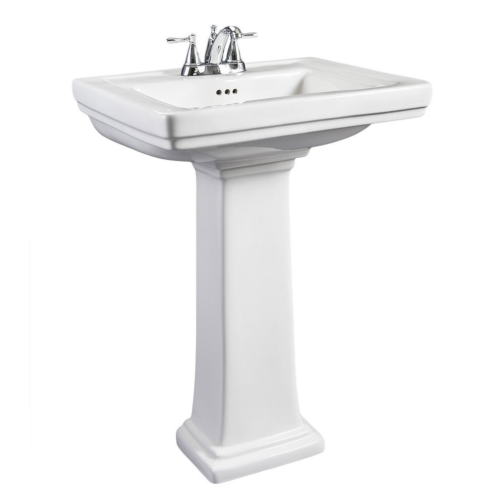 centers porcelain sink white bathroom with gaston sinks corner small pedestal