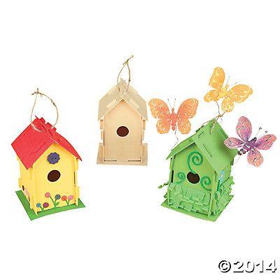 DIY Wood Birdhouses - for inspiration