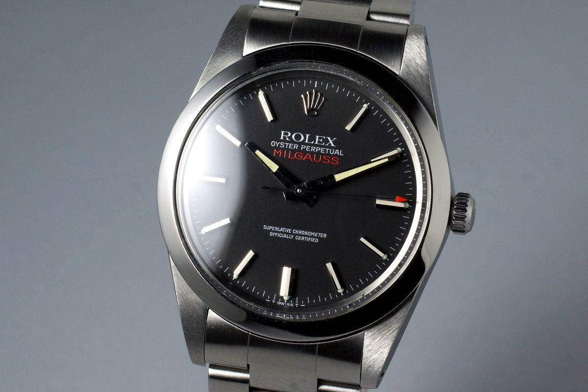 1979 Rolex Milgauss 1019 Black Dial with RSC Papers