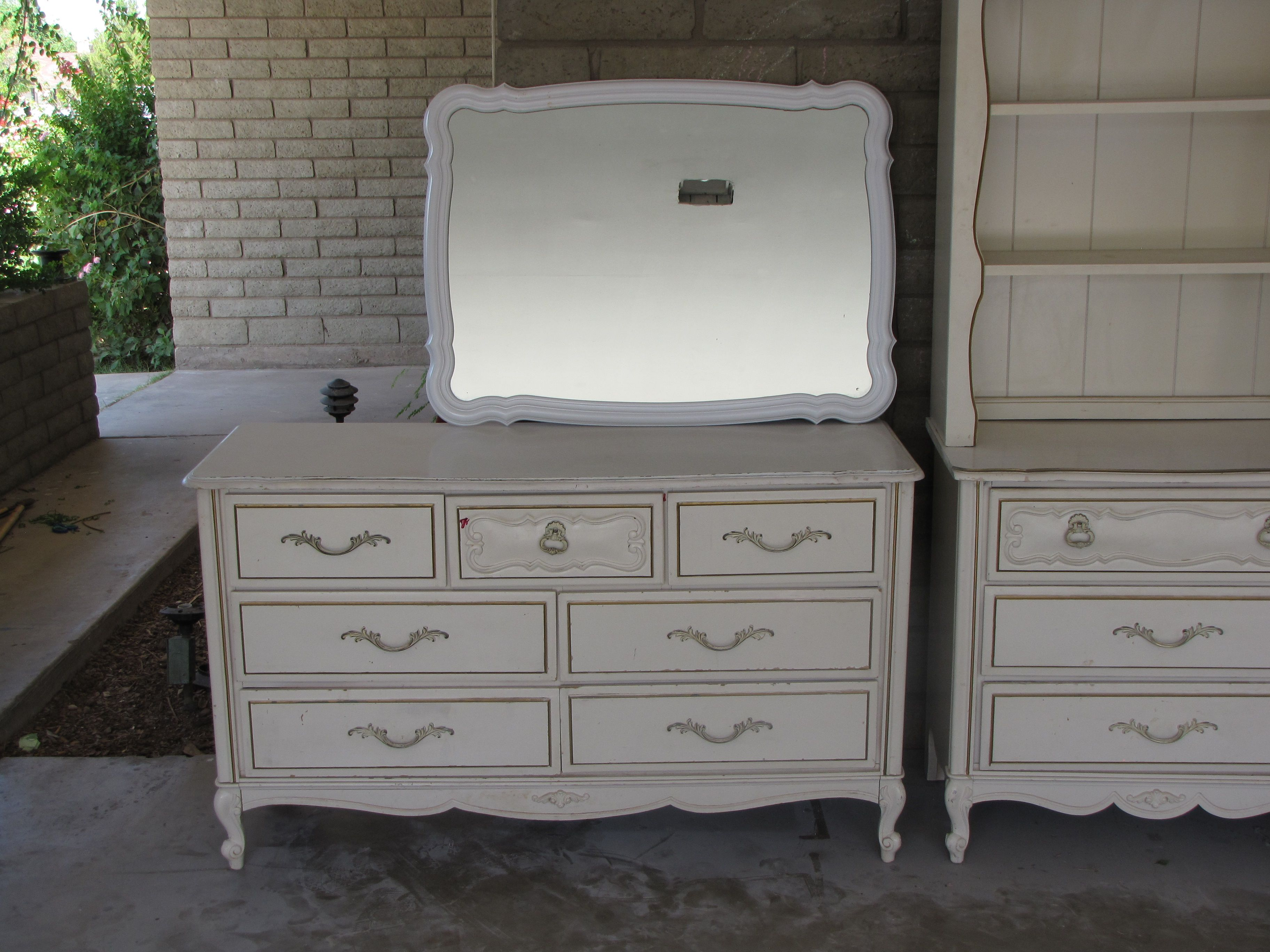 chrissie provincial bedroom white s nightstand set collection custom french pin