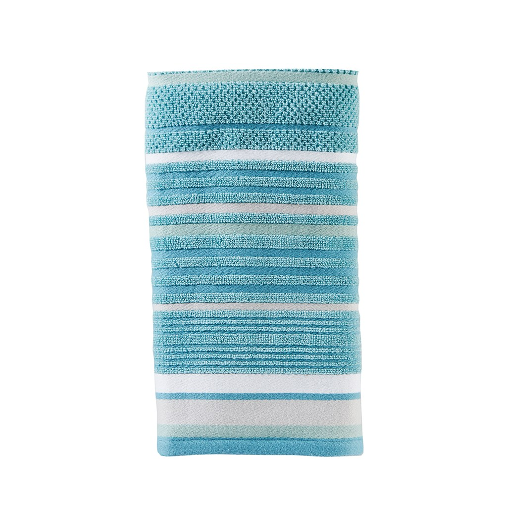 Saturday Knight Ltd 2 Pack Seabrooke Stripe Hand Towel Set Hand Towel Sets Towel Set Hand Towels