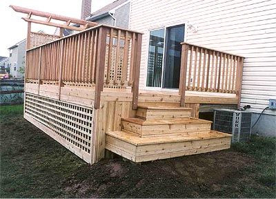 Back Porch Step Deck Photos Of Decks And Designs Custom Built Using The Finest