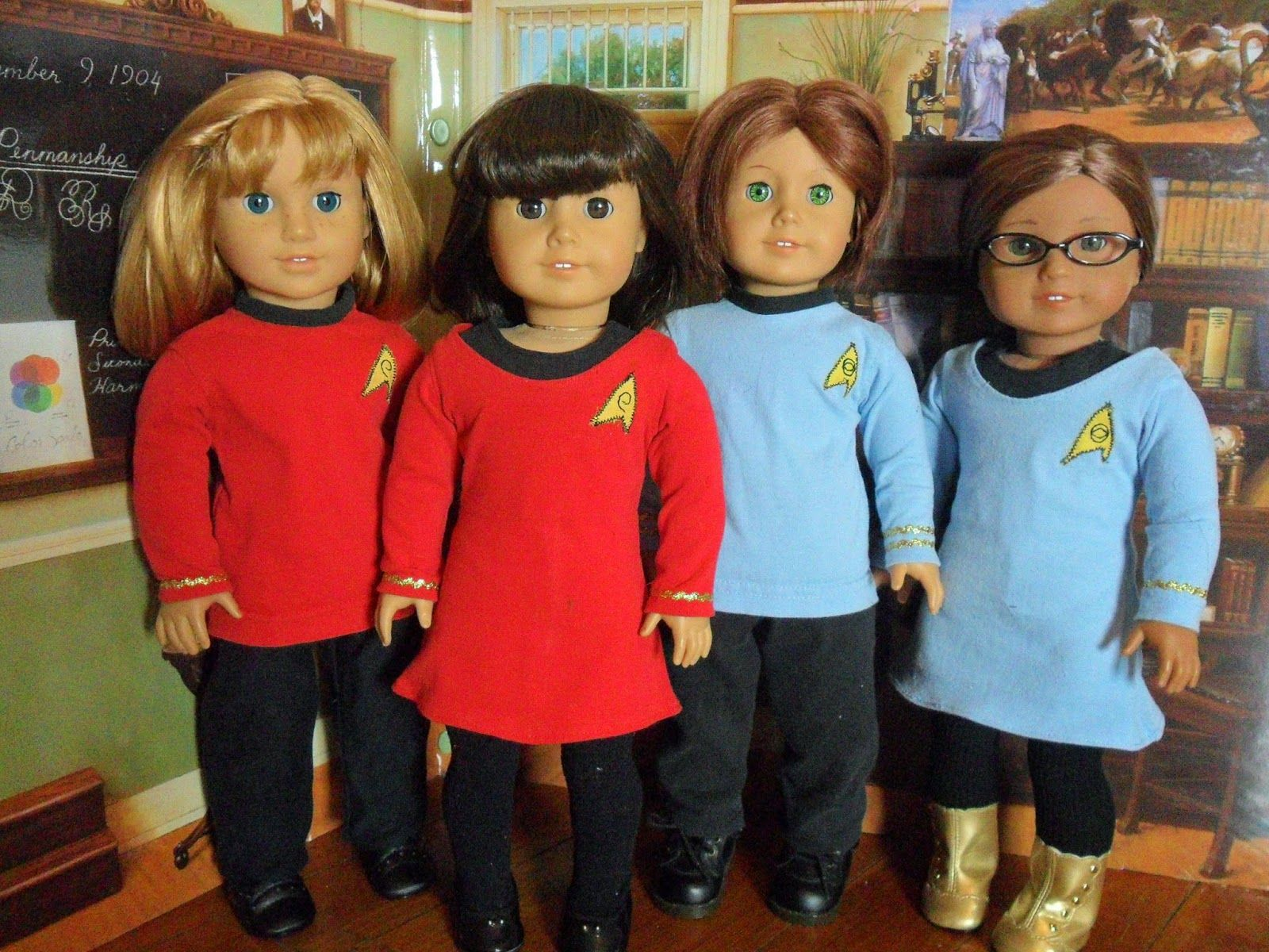 Jinjia Mixed Goods: American Girl Dolls with an Asian Flair: Free ...