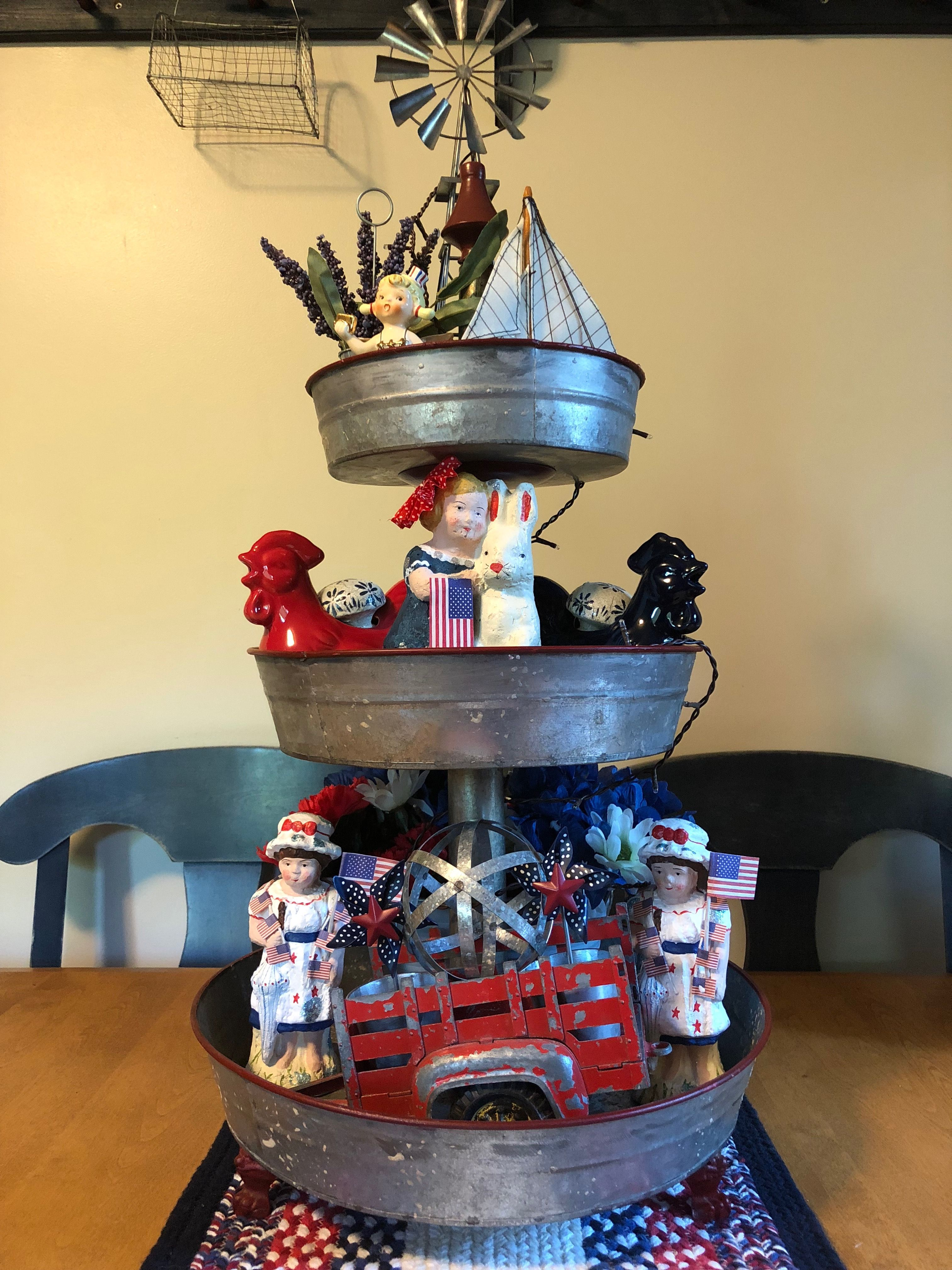 Pin by Traci Jennings on Tiered Tray Display Ideas