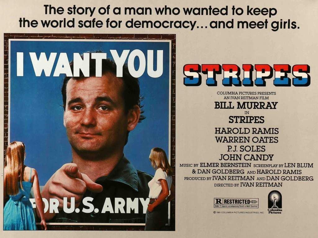 Stripes (1981) | Movies, Classic comedies, Warren oates