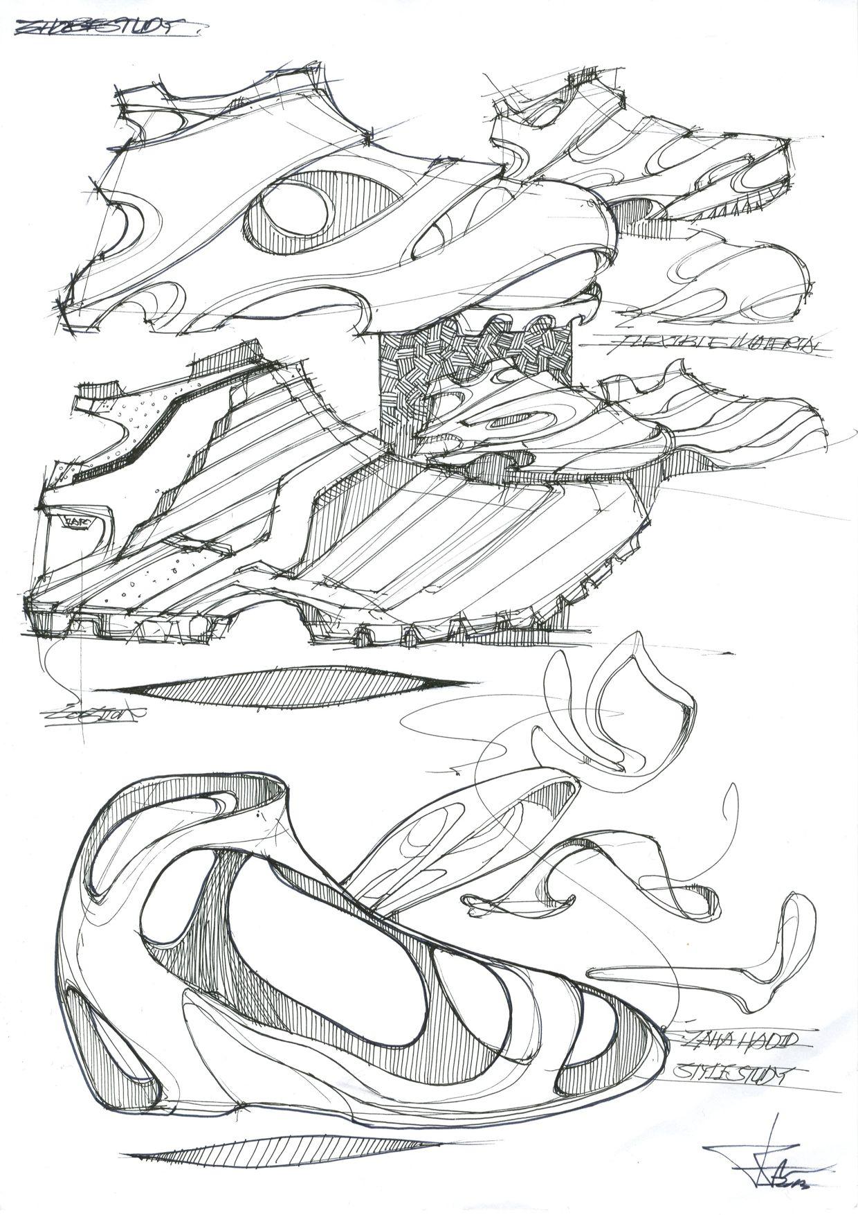Shoes Design Study on Behance Shoe design sketches