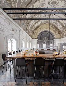 New restaurant The Jane Antwerpen by Piet Boon | Sergio Herman   C-More |design + interieur + trends + prognose + concept + advies + ontwerp + cursus + workshops