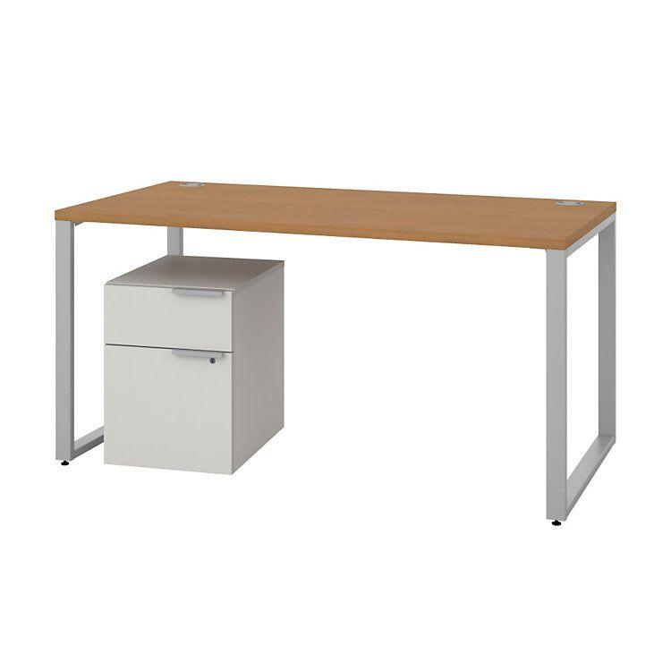 Voi Desk With Mobile Pedestal By Hon Mobile Pedestal Desk Smart Furniture
