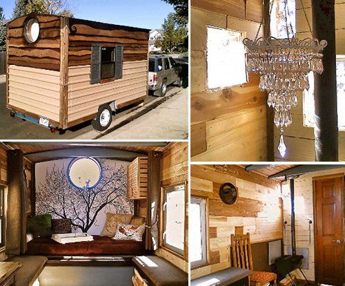 Cute Little Micro Home Wish I Could Have One And Travel All Over