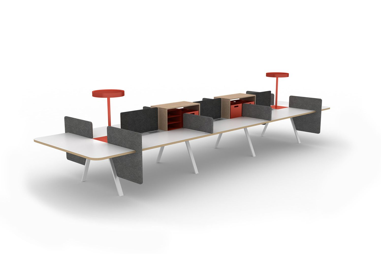 Enhance Shared Storage Areas At The Tonic Bench With Truss Ends Available In Low Or Tall Options