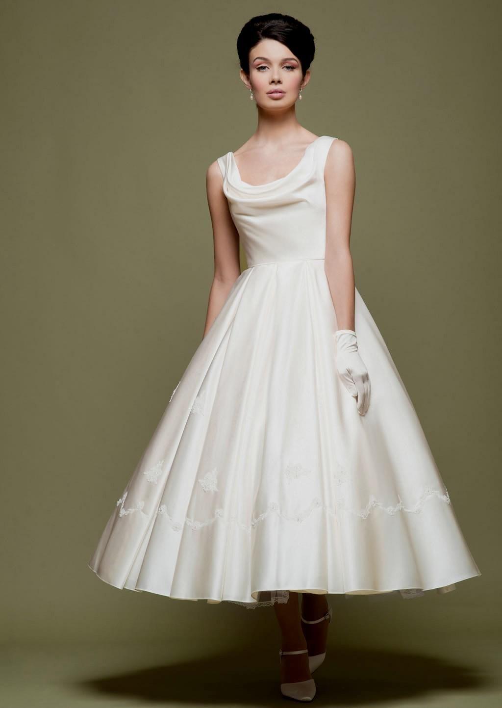 Fifties Style Wedding Dress