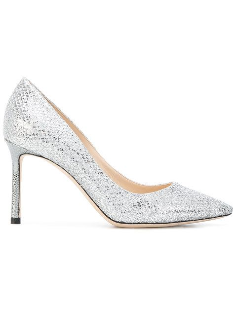 e8c5e4d2b  jimmychoo  shoes  パンプス. JIMMY CHOO .  jimmychoo  shoes  パンプス Silver  Metallic Pumps