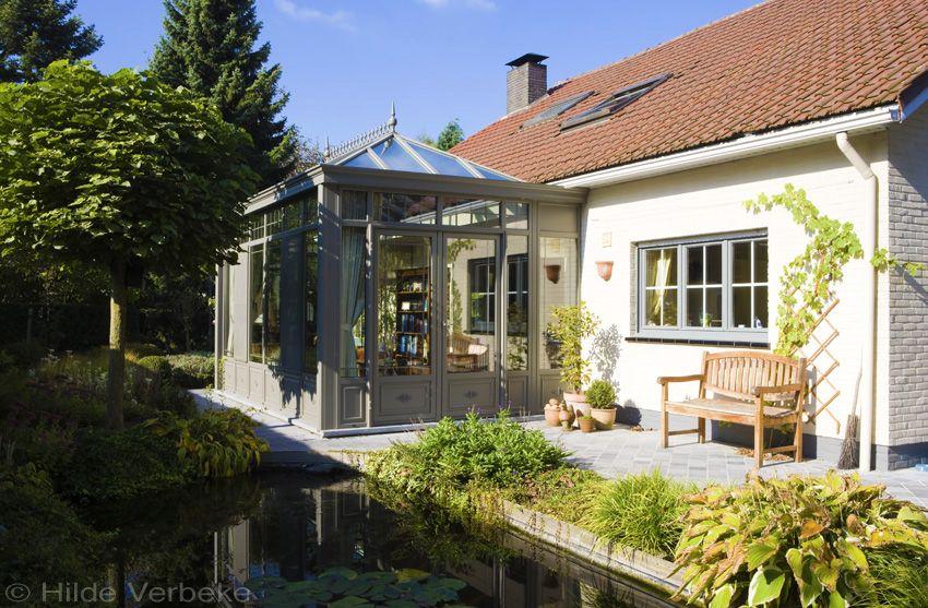Veranda sfeer in de tuin u huis bouwen