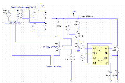Time Delay Switch For Mobile Chargers Mobile Charger Circuit