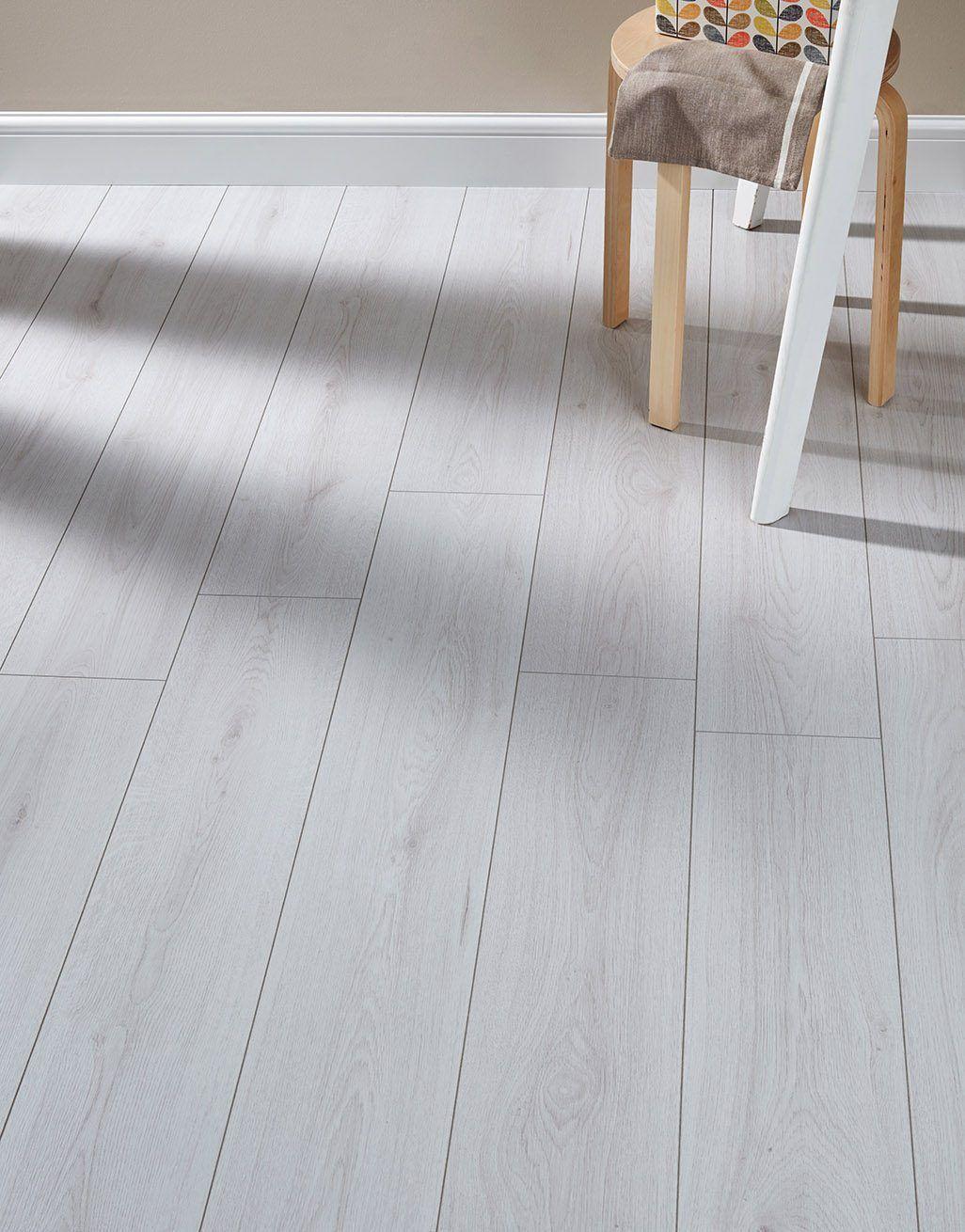 Farmhouse White Laminate Flooring in 2020 White