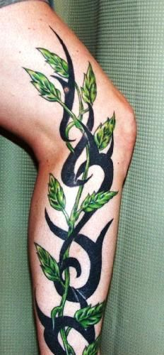 WANT!!! But as a half sleeve and with shading