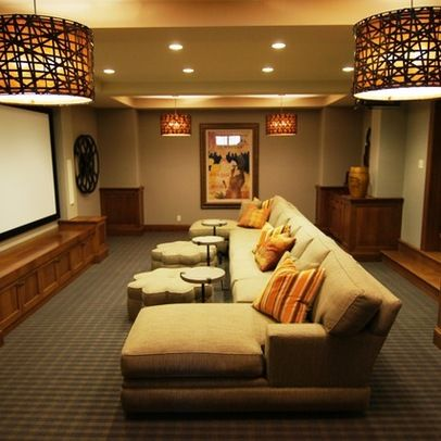 1000+ Images About Media Room Ideas On Pinterest | Hall Design