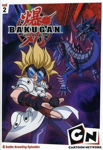 New Dvd Bakugan Battle Brawlers Game On Vol 2 Factory Sealed