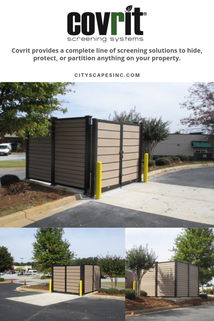 Covrit Dumpster Enclosures With Images Commercial Architecture Dumpster Ipe Wood