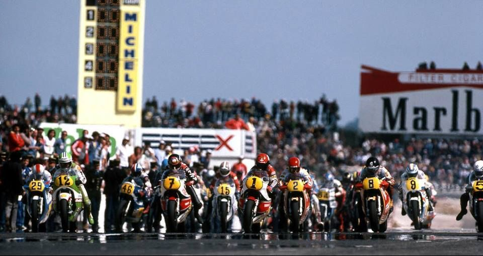 GP DE FRANCE 500 1981 LE CASTELLET. Hiroyuki KAWASAKI
