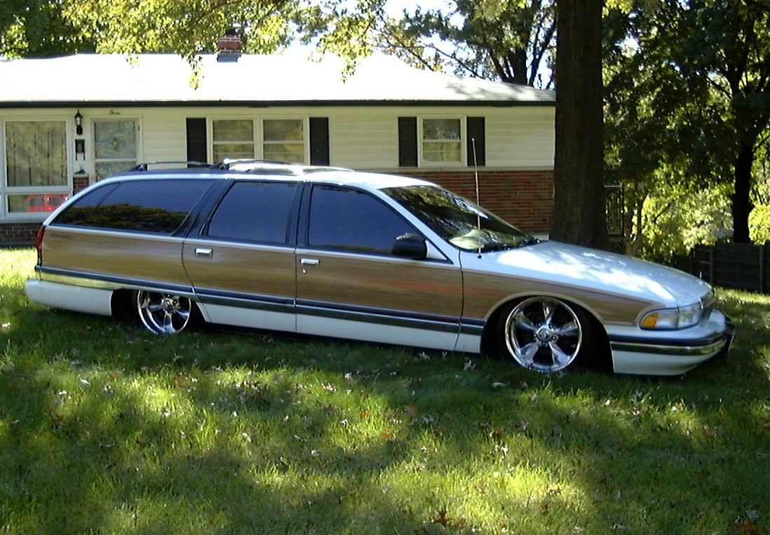 Although a buick looks so much like our kick ass caprice wagon