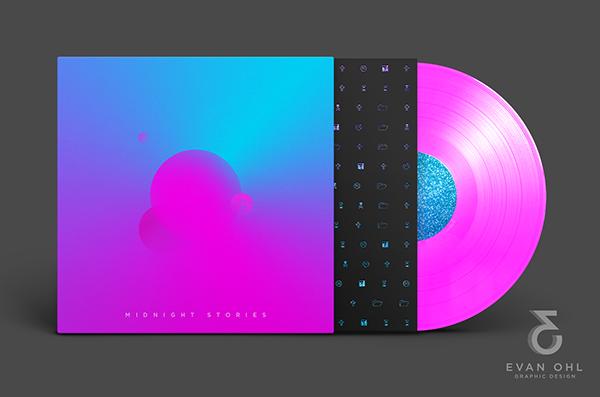 [Album/Vinyl Cover] Midnight Stories on Behance