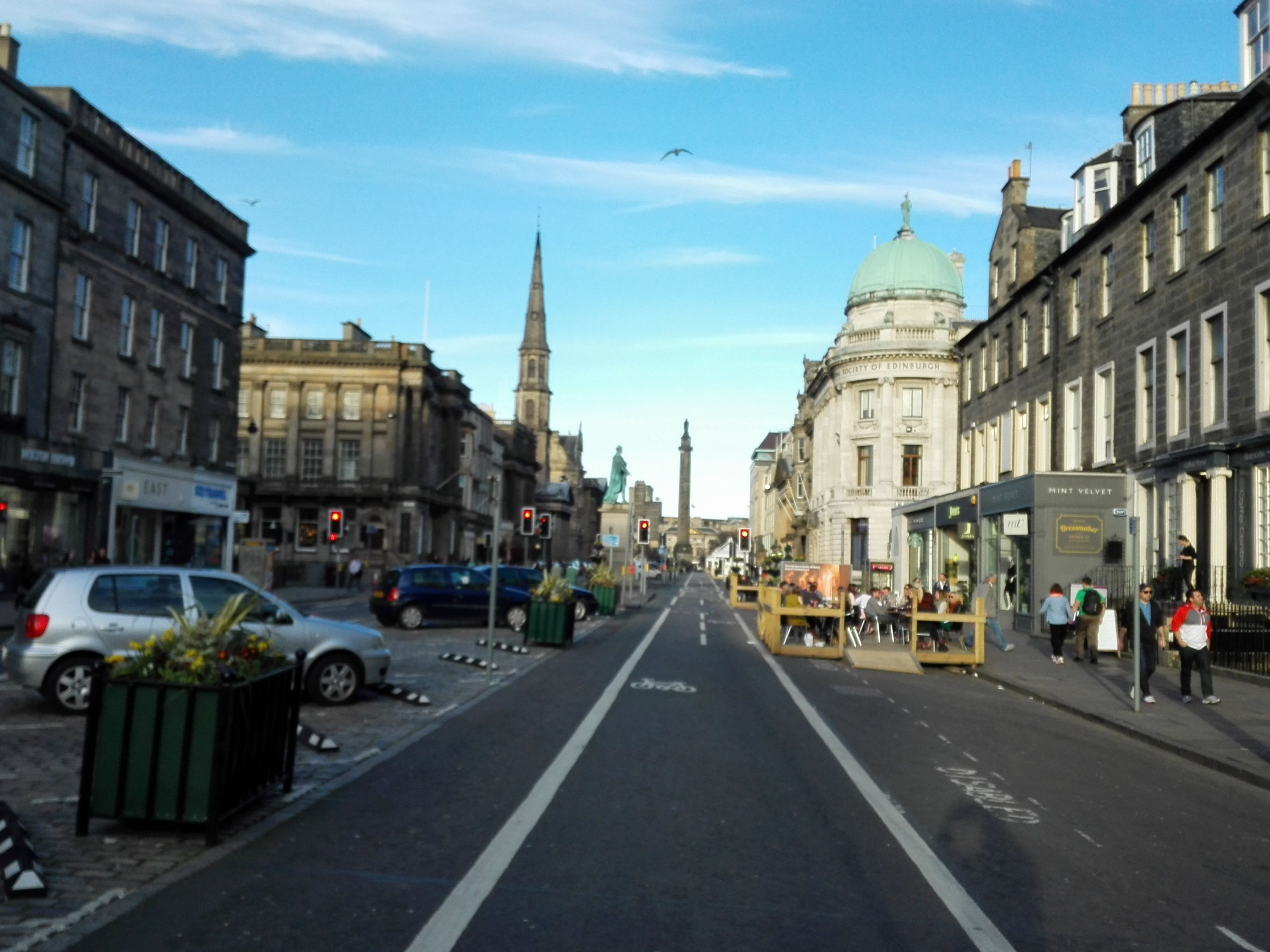 George Street. Edimburgo. #Edimburgo #Escocia #Edinburgh #Scotland ...