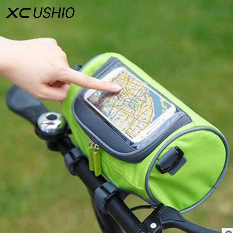 Waterproof Mountain Bike Bicycle Bags Panniers Touch Screen Cycling ...