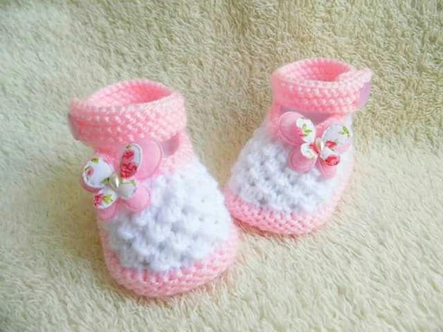 Pin de Tipter Simona en botosei | Pinterest | Zapatos tejidos de ...