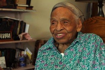 Black Wall Street survivor Olivia Hooker, now 99, has never given up hope for restitution. She was 6 years old when her father's department store was destroyed. – Photo: Dexter Mullins