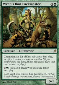 Wren's Run Packmaster from Lorwyn at TCGplayer.com as low as $0.89