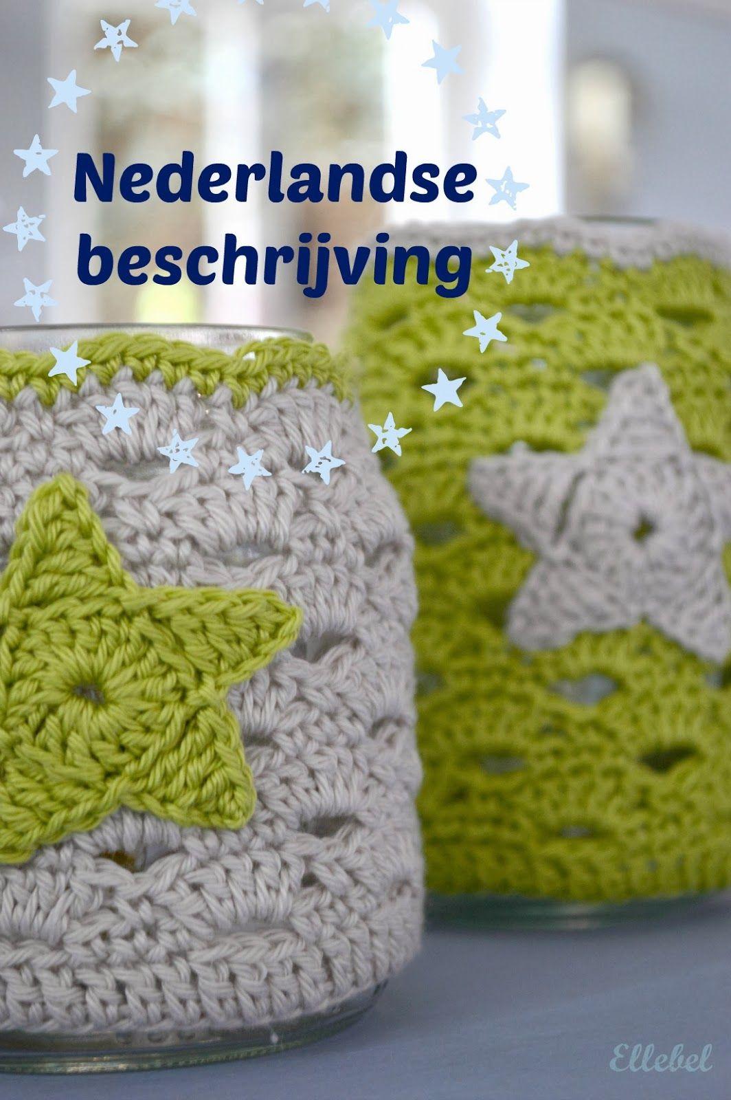Ellebel: Beschrijving sfeerlichtje NL | Handavinna | Pinterest ...