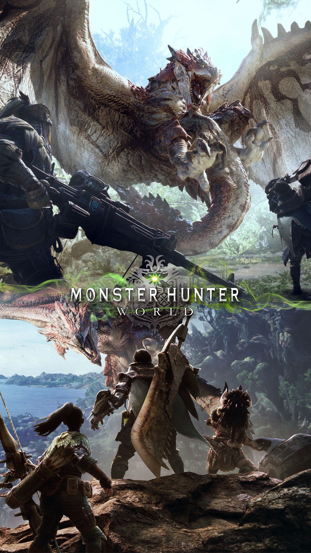 New Phone Wallpaper Monster Hunter World Gaming Art Monster Hunter World Wallpaper Monster Hunter World Monster Hunter