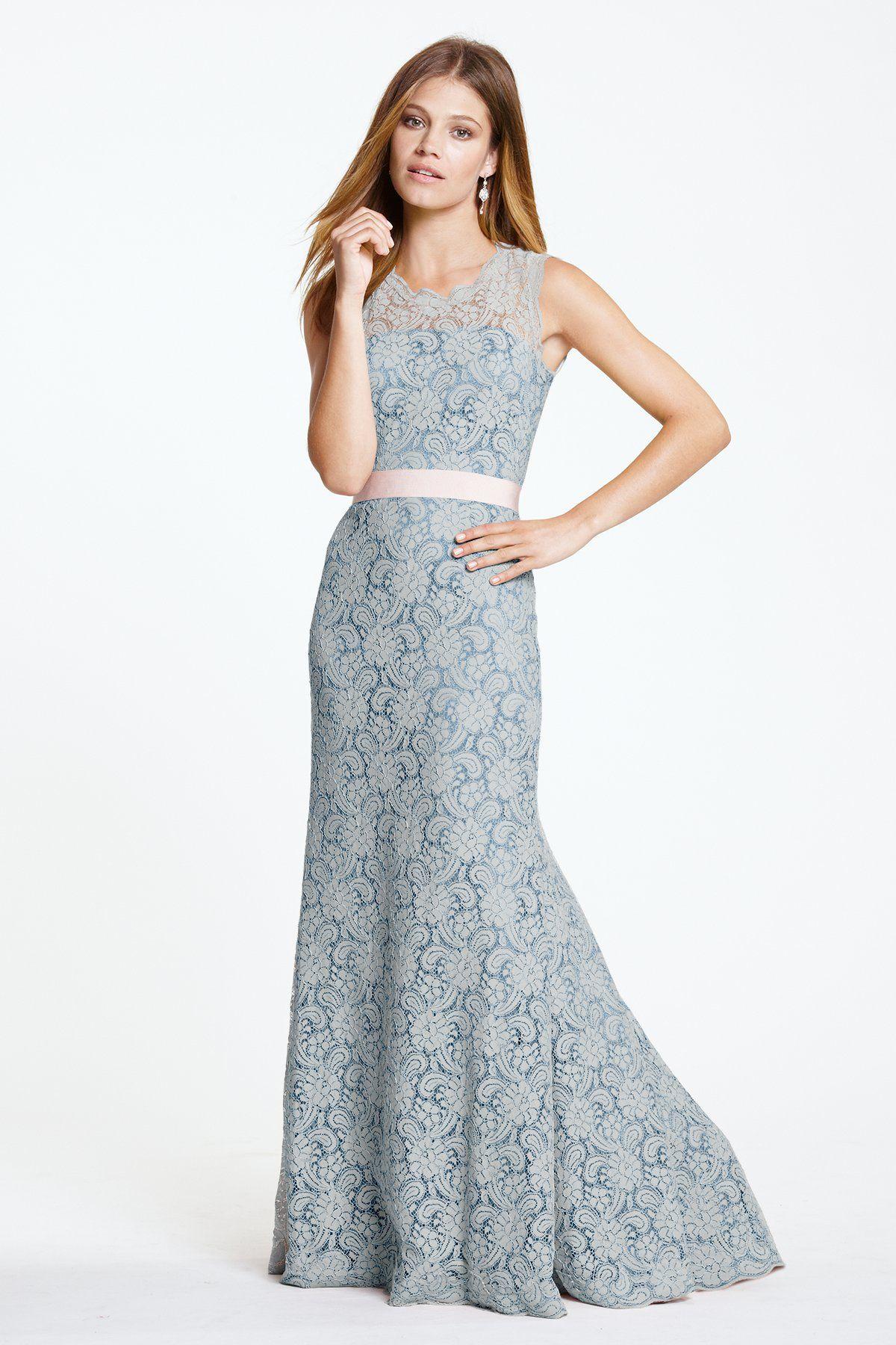 Watters Andrea Bridesmaid Dress Weddington Way Rose