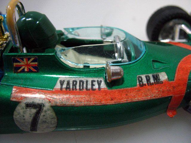 """""""Mebetoys Mattel"""" 6672 Grand Prix BRM P160 F1 cod. 106553 - Clicca l'immagine per chiudere"""