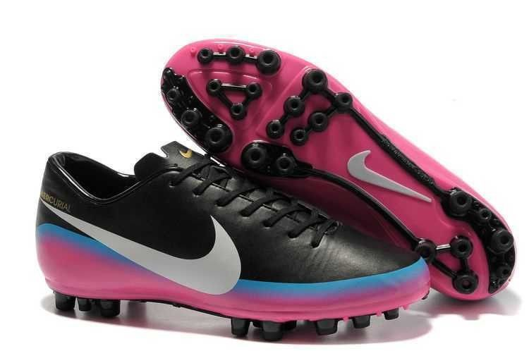 1e8c3bcb2ef2 Nike Mercurial Vapor Superfly IV Fourth style CR7 Cristiano Ronaldo  exclusive personal AG soccer cleats black white pink! Only  84.20USD