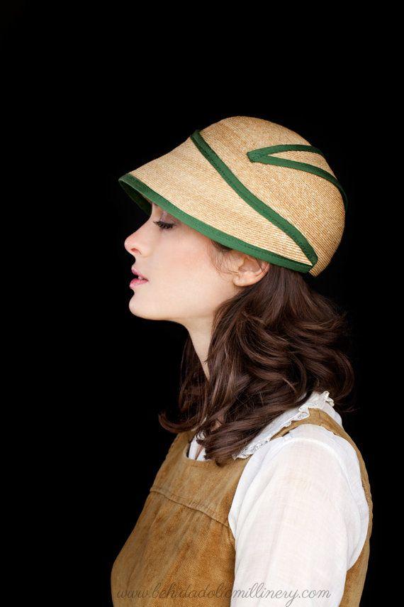 Straw Hat Behida Dolic Millinery By Behidadolicmillinery On Etsy Straw Hat Millinery Elegant Hats