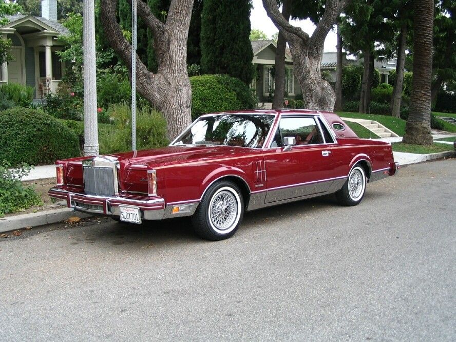 High Quality 1980 Lincoln Continental Mark Vi Maintenance/restoration Of Old/vintage  Vehicles: The Material