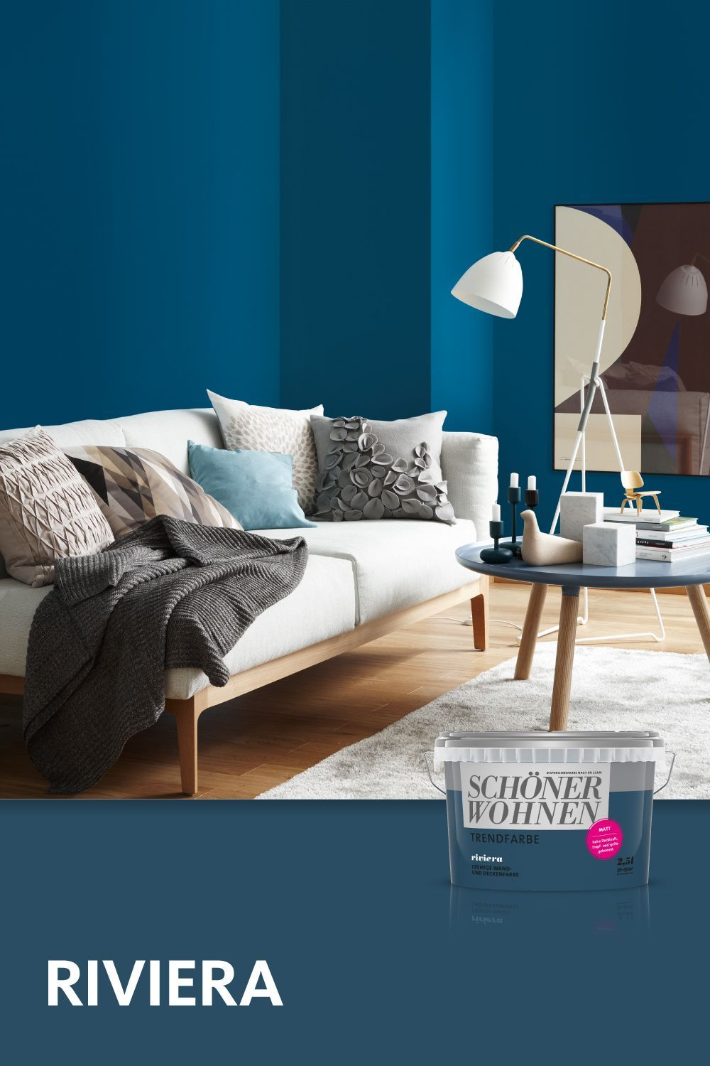 Trend Color Riviera In 2020 Bedroom Colors Color Trends House Colors