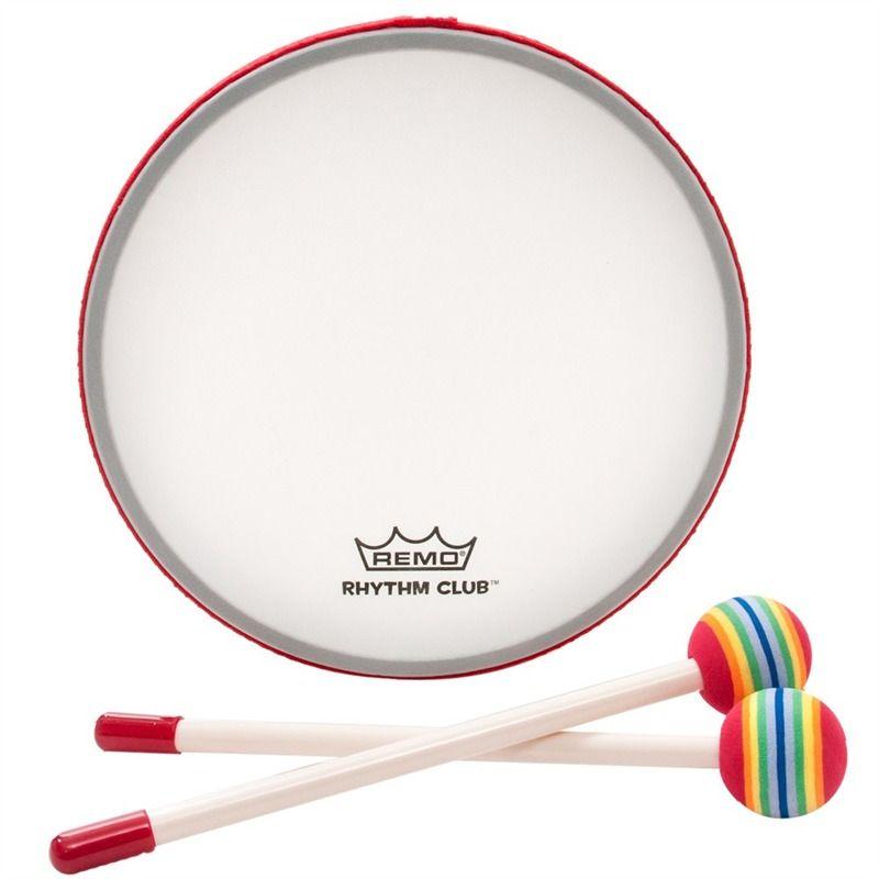 Remo Rhythm Club RH-0108-00 Pretuned Frame Drum, 1\