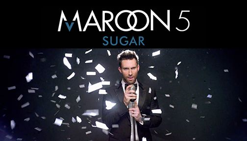 Maroon 5 Sugar Mapped By Jingshenbing Wedding Crashers Maroon Wedding Maroon 5