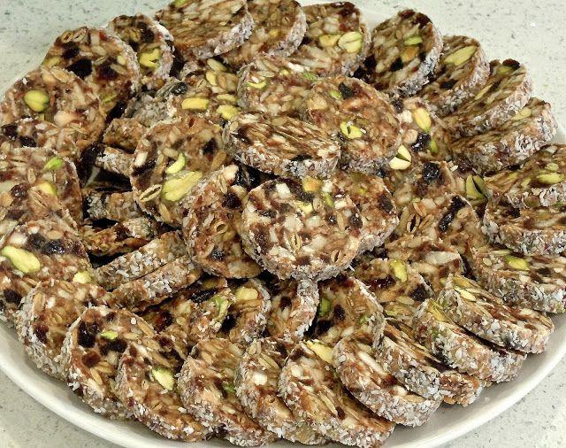Khajoor Katri Date Nut Roll Cookies Pudding Recipes