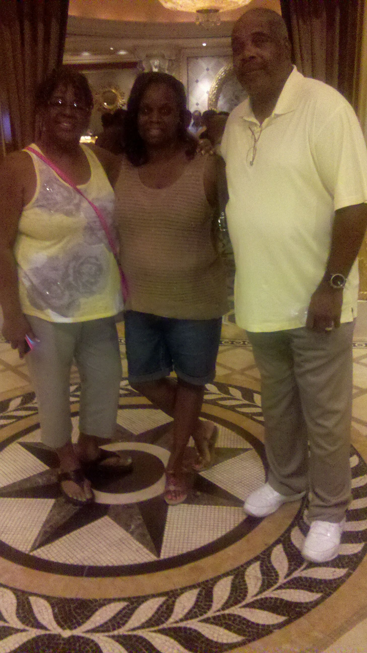 Hanging out with Donovan McNabb parents