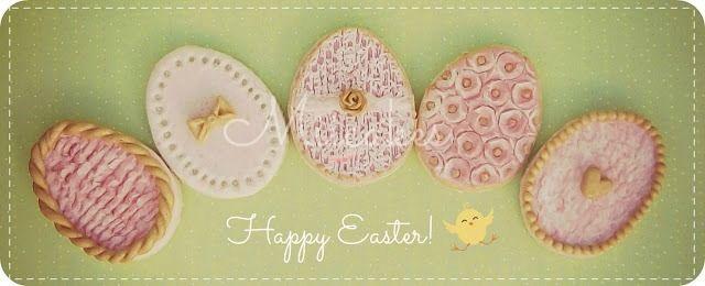 Galletitas para pascuas! / Easter Egg Cookies! ♥