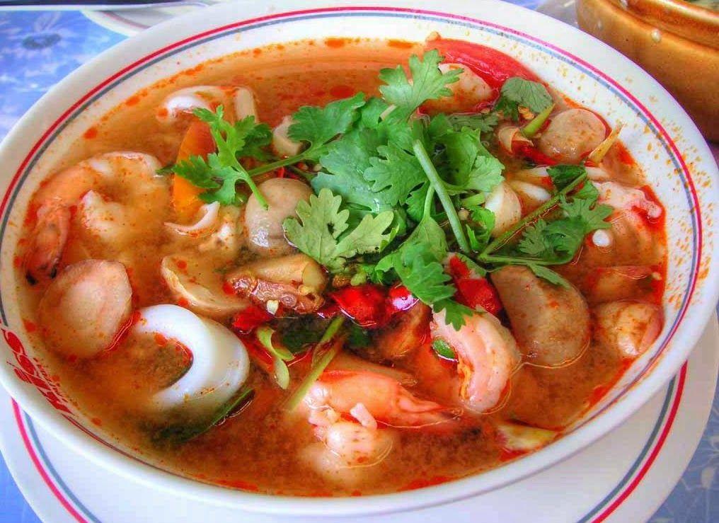 Resep Cara Membuat Tom Yam Seafood Enak Khas Thailand Sup Seafood Resep Sup Resep Masakan